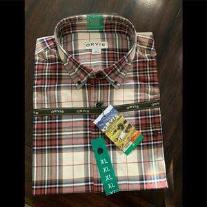 Orvis Men's Shirt-NWT